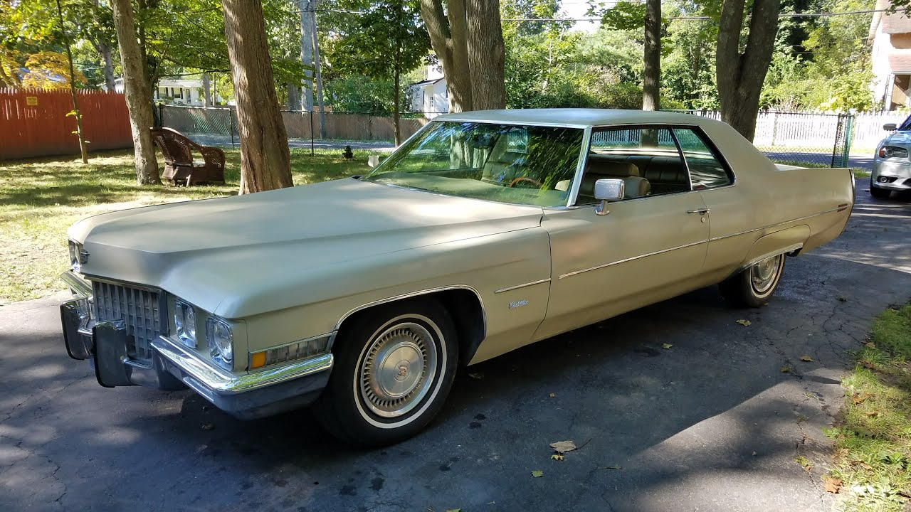 Cadillac Coupe For Sale >> 1971 Cadillac Coupe DeVille For Sale~Only 2 Owners~44,000