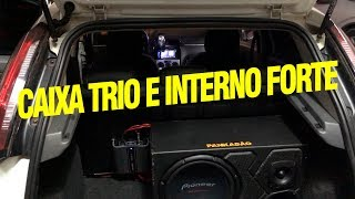 PUNTO COM CAIXA TRIO E SOM INTERNO (INSTALAÇÃO PASSO A PASSO) - PANKADÃO OFICAIL