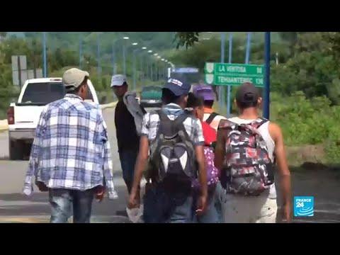 Desde El Salvador inicia la tercera caravana migrante