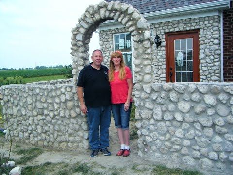 How to Build a Slip Form Stone Archway - Part 5 of Slip Form Series