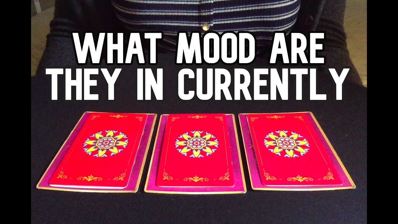 Pick a card: What Mood Are They In Currently? *timeless*