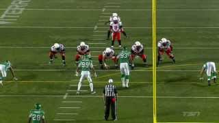 July 12, 2014 - Kevin Glenn touchdown pass to Courtney Taylor