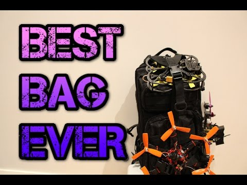 The best FPV/drone backpack ever. ONLY $20!!!!!