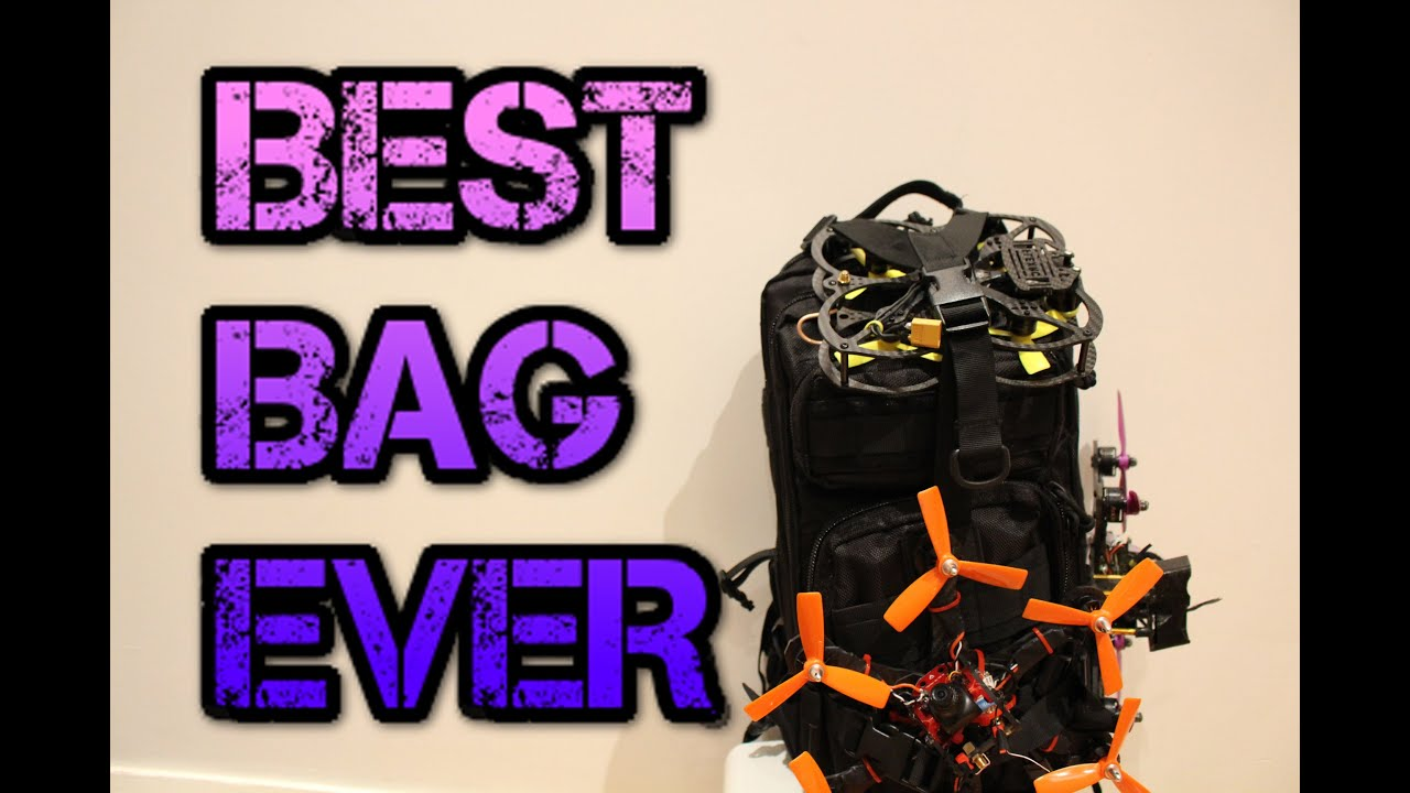 The best FPV/drone backpack ever. ONLY $20!!!!! - YouTube