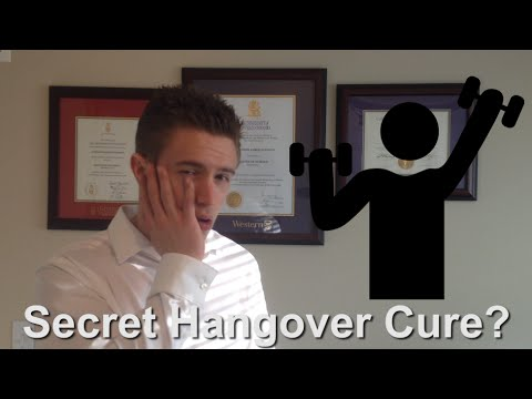 Will Exercise Cure My Hangover?