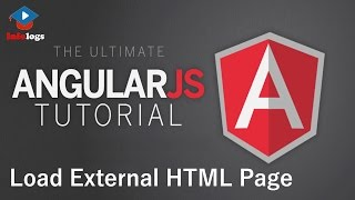 AngularJS Video Tutorials - Custom Directive for Loading External HTML pages