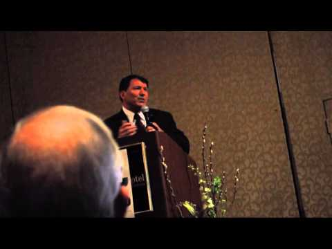 Mike Rounds At 2014 Hughes County Lincoln Day Dinner