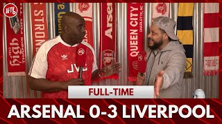 Arsenal 0-3 Liverpool | I Don't Trust The Process! (Angry Troopz)
