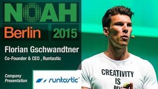Florian Gschwandtner, Runtastic - NOAH15 Berlin