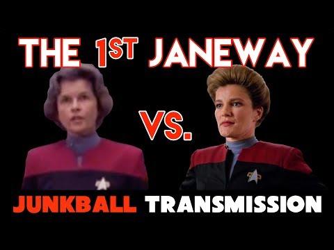 1st Capt. Janeway - Star Trek Voyager Genevieve Bujold vs. Kate Mulgrew