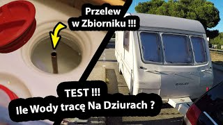 Ile Wody Tracę Podczas Jazdy po Dziurach ??? - Test Przelewu Wody w Zbiorniku (Vlog #295)