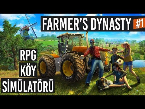 Yıllardır Beklenen Çiftçilik ve Köy Simülatörü - Farmer's Dynasty #1