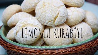 Nefis limonlu kurabiye / katı yağ yok çok az malzemeli / kurabiye tarifleri / Figen Ararat