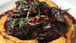 Lamb Braised in Pomegranate Juice - Braised Lamb Shoulder Recipe