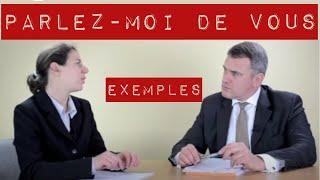 🏆 Parlez moi de vous entretien d'embauche : exemple de présentation (avec simulations)