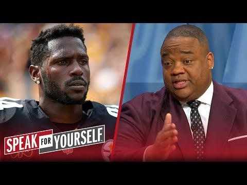 Whitlock and Wiley react to Antonio Brown's trade to the Raiders   NFL   SPEAK FOR YOURSELF