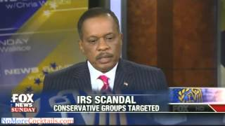 "Chris Wallace hammers Juan Williams over IRS scandal - ""I know facts are inconvenient"""