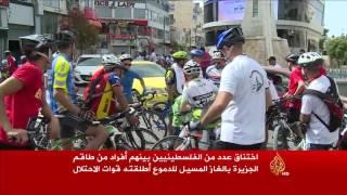 الاحتلال يقمع نشاطا رياضيا لإحياء ذكرى النكبة الفلسطينية