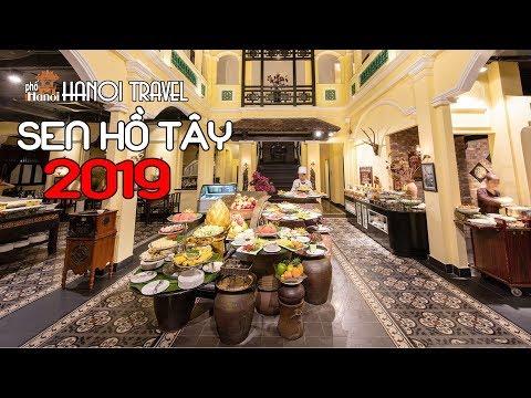 Đột phá Buffet Ngon nhất nhì Hà Nội Sen Tây Hồ 2019 P2 #hnp