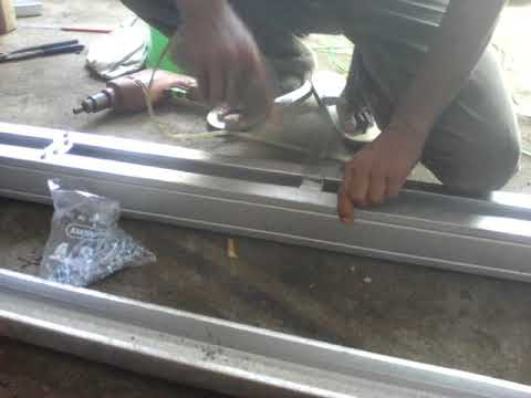 gambar kanopi bahan baja ringan membuat tiang dari youtube