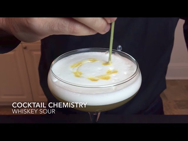 Basic Cocktails - How To Make The Whiskey Sour (Reverse Dry Shake)