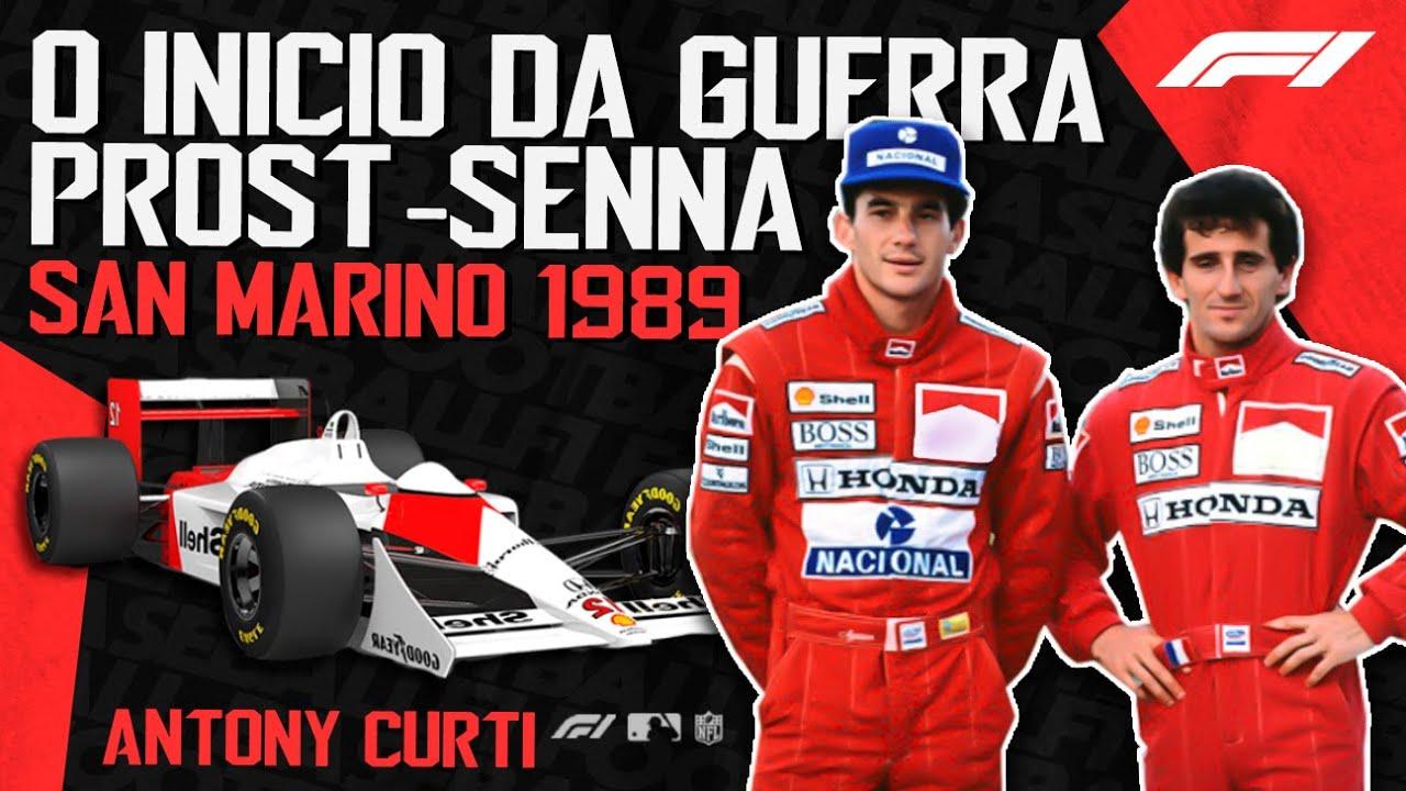 IMOLA 1989: O início da Guerra Senna-Prost