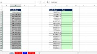 Excel Magic Trick 1258: Add Spaces Between Digits: Custom Number Format & TEXT Function