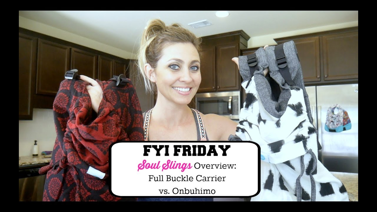db8c37fcfe9 FYI FRIDAY  Soul Slings Overview - Comparing the Full Buckle vs the Onbuhimo