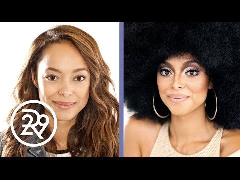 Amber StevensWest is Transformed into Diana Ross by Makeup Artist Raja  Refinery29  Refinery29