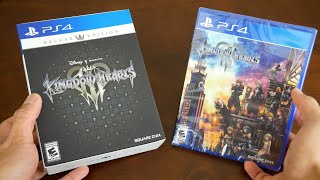 Unboxing - Kingdom Hearts 3 Deluxe Edition VS Standard Edition || GIVEAWAY!