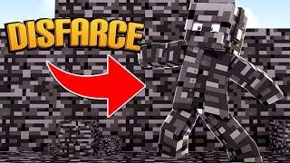 Minecraft: DISFARCE DE BEDROCK  - (Esconde-Esconde)