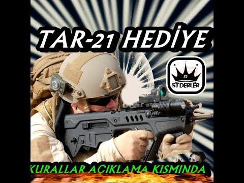 TAR-21 HEDİYE ZULA  ST DERLER CANLI YAYINI