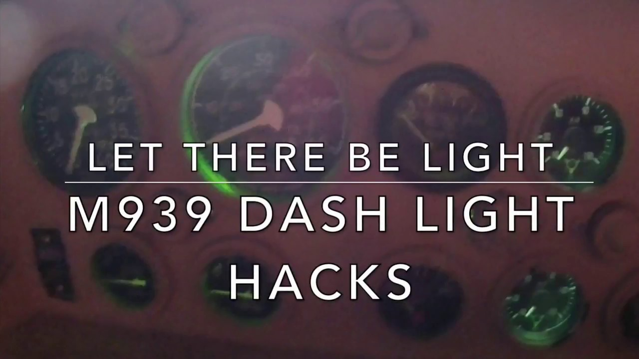 M939 DASH LIGHT S M Wiring Diagram on