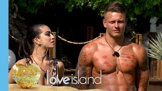 Boys Get Aggressively Kissed By New Girls | Love Island 2016