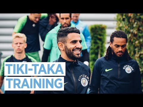 TIKI-TAKA | MAN CITY TRAINING