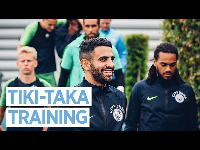 TIKI-TAKA | MAN CITY TRAINING