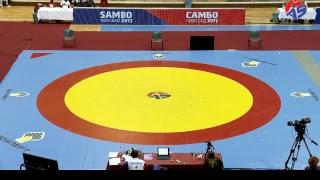World Youth & Junior SAMBO Championships 2017. Day 3. Preliminaries Mat 1
