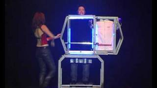 Shadow Vision Sawing  Illusion by Illusionists J C Sum &