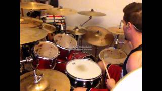 KAMELOT - The light i shine on you drum cover by J Rock