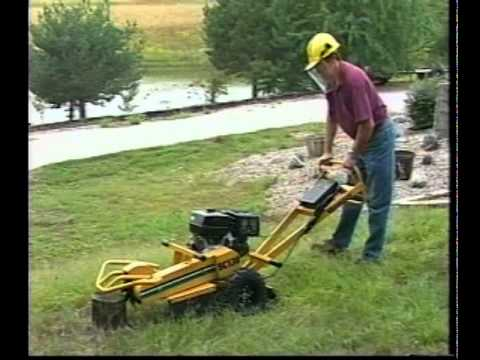Handlebar Stump Cutter Operation and Safety Video | Vermeer