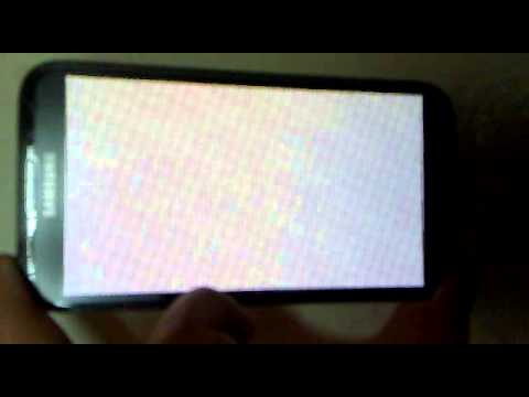 Samsung Note 2 startup white screen error