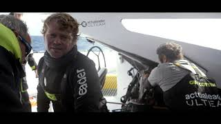 ROLEX FASNET RACE - On Board Actual Leader