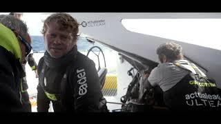 ROLEX FASNET RACE - On Board Actual Leader