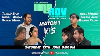 The Ultimate Improv Comedy Battle | Kaneez Surka