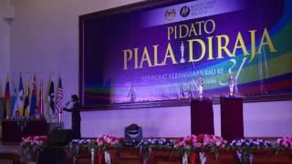 JOHAN Pidato Piala Diraja Peringkat Kebangsaan (SM) 2015