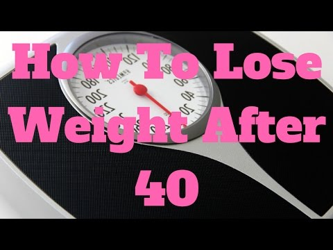 how-to-lose-weight-after-40