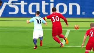Manchester City vs Liverpool   UEFA Champions League 2018 Gameplay