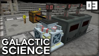 """SWEET SUGAR POWER!!!"" Galactic Science Ep 03 Minecraft Modded Survival"