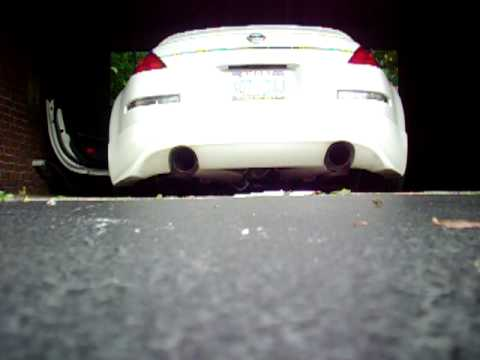 350z HKS Hi-Power Exhaust w/ Berk Test Pipes, MD 5/16