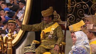 Brunei sultan marks golden jubilee with lavish celebrations